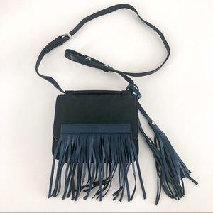 Urban Orginals Freedom Fringed Crossbody Bag